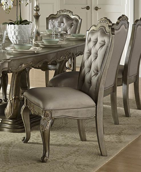 modern 9 pc dining table dining chairs dining arm chair