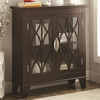 Accent Cabinet w/ Glass Doors