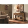 Accent Cabinets Rustic Console Table w/ Drawers
