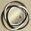 Accent Mirrors Two-Tone Contemporary Mirror