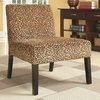 Accent Seating Accent Chair w/ Wood Legs