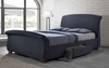 Bristol Fully Upholstered Queen Bed with 2 Underbed Drawers