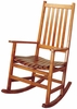 Casual Traditional Wood Rocker