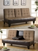 Contemporary coaster futon 300237 Convertible Sofa Bed