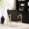 COUNSEL LOUNGE CHAIR IN NATURAL BROWN