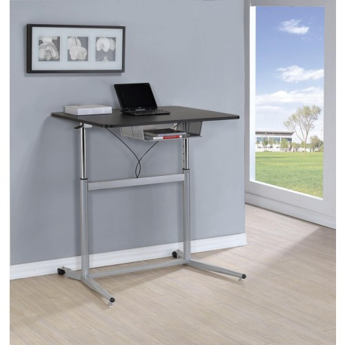 Modern Adjustable Writing Desk Office Desk 28 To Height Contemporary VA