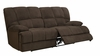 Dona Chocolate-Fabric Sofa