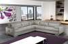 Gary Italian Leather Sectional
