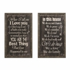 Inspirational Wall Art with Cozy Sentiment