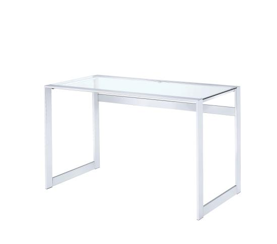 glass writing desk Glass chrome desk related searches: glass, desk, safety glass, & marketplace (500+) only (60) venetian worldwide bates glass top writing desk with black metal.
