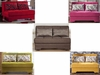 Modern Twist Loveseat Full size Futon Sofa Bed Sleeper Furniture Stores