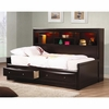 Phoenix Twin Daybed with Bookcase & Storage Drawers