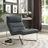 REACH LOUNGE CHAIR IN GRAY
