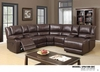 Recliner Sectional Leather Gel U96180