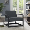 SEG FABRIC ACCENT CHAIR IN GRAY