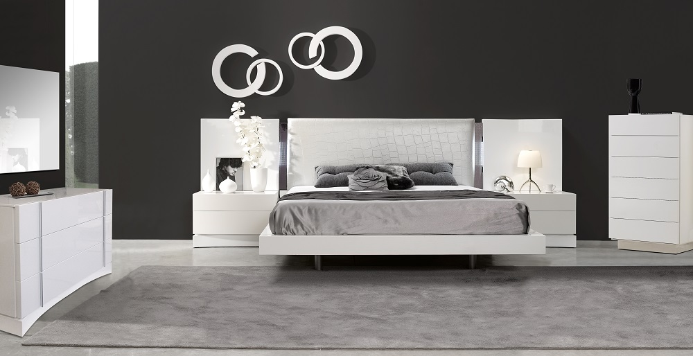 Seville Bedroom Set Queen Contemporary Alexandria VA Furniture Stores. Bedroom Furniture Alexandria Va