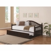 Traditionally-Styled Wood Daybed with Trundle