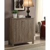 Weathered Gray Shoe Cabinet/Accent Cabinet