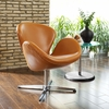 WING LEATHER LOUNGE CHAIR