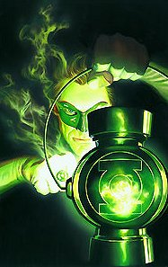 "Alex Ross Hand Signed and Numbered Limited Edition Giclee on Paper:""The Green Lantern - The Power Lantern"""