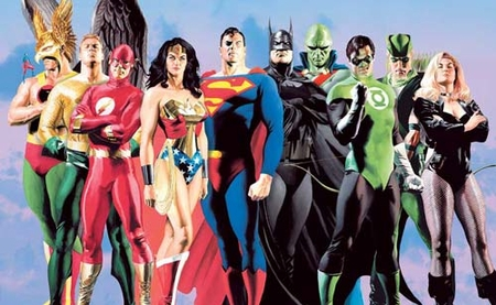"Alex Ross Limited Edition Fine Art Prints:""JLA: Secret Origins"""