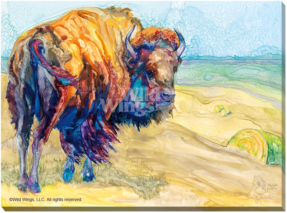 Caly Garris Extra Large Gallery Wrapped Giclee Canvas