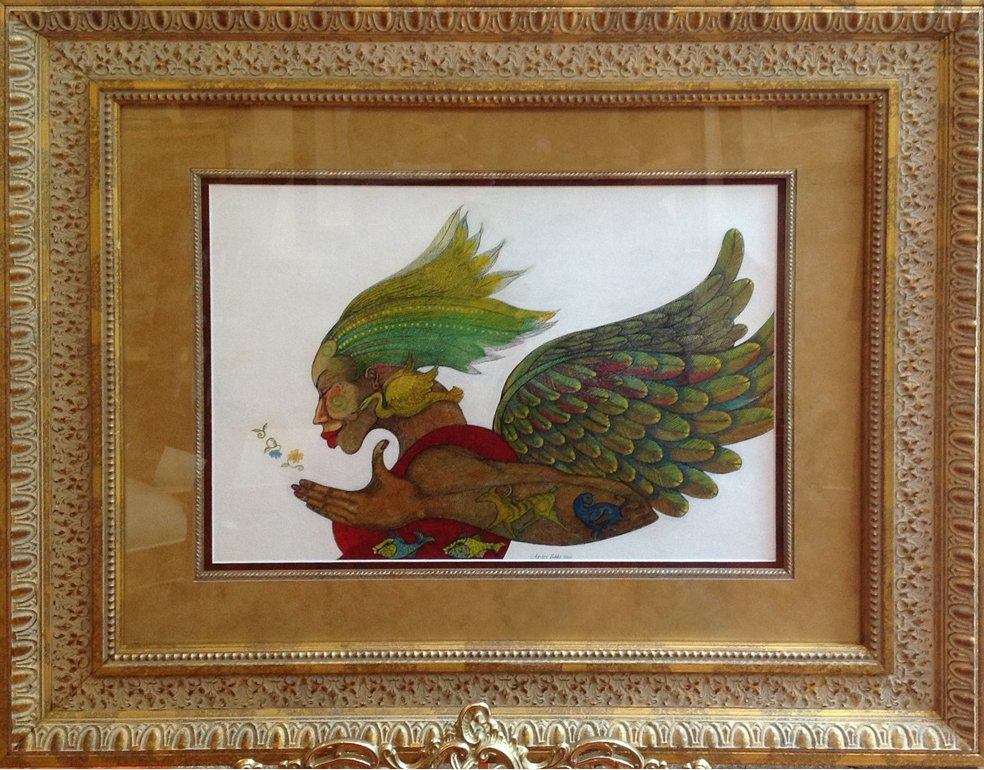 Charles Bibbs Hand Signed And Numbered Framed Canvas