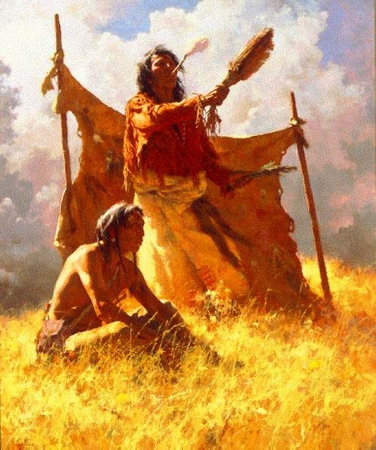 """Howard Terpning Limited Edition Print: """"Weather Dancer Dream """""""