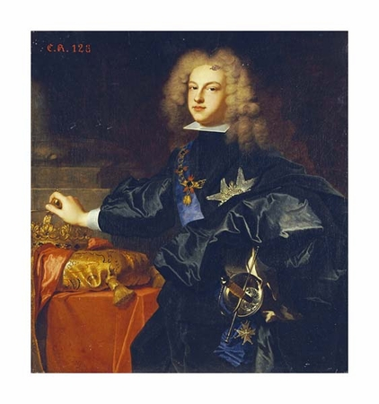 "Hyacinthe Rigauld Fine Art Open Edition Gicl�e:""Portrait of King Philip V of Spain"""