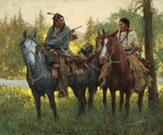 "Howard Terpning Limited Edition Artist Proof (AP) Signed and Numbered Canvas Giclee:""A New Beginning"""
