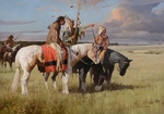 "Z. S. Liang Hand Signed Limited Edition Canvas Giclee:""In Quest of the Cree"""