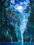 """James Coleman Hand Signed and Numbered Limited Edition Giclee on Canvas:""""Our Eternal Enchantment"""""""