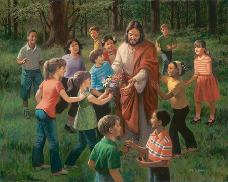 """James Seward Hand Signed and Numbered Limited Edition Giclee:""""Rejoice in the Lord """""""