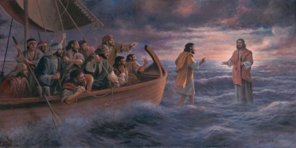 """James Seward Handsigned and Numbered Limited Edition Giclee:""""Be Not Afraid"""""""