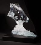 """John Cuevas Limited Edition Sculpture :""""Calm Waters (Whale) """""""
