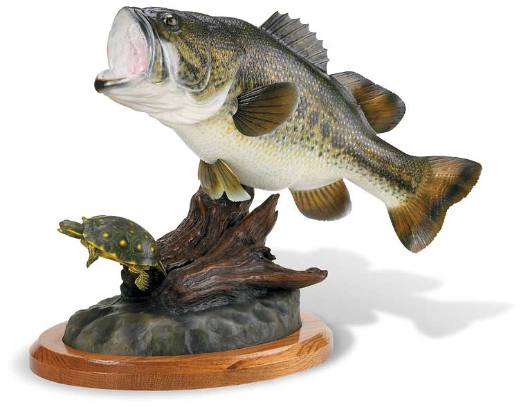 The Woodworking Shows California 2015 Largemouth Bass