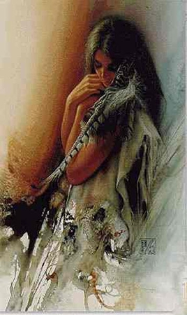 "Lee Bogle Limited Edition Artist Proof Print: ""Gentle Spirit"""