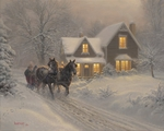"""Mark Keathley Handsigned and Numbered Limited Edition:""""I'll Be Home"""""""