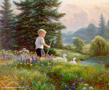 "Mark Keathley Handsigned and Numbered Limited Edition Print:""Grand Adventure"""