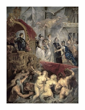 "Peter Paul Rubens Fine Art Open Edition Gicl�e:""Landing at Marseilles (Life of Marie de Medici, Queen of France)"""