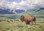 "Tucker Smith Hand Signed Limited Edition Anniversary Gicl�e Canvas:""Return of Summer"""