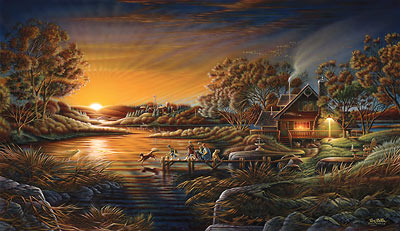 Terry Redlin Handsigned And Numbered Limited Edition Print