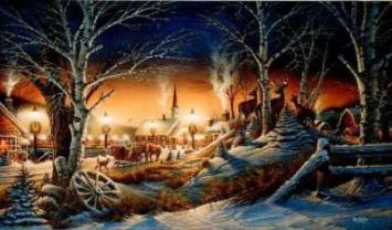 terry redlin limited edition print night on the