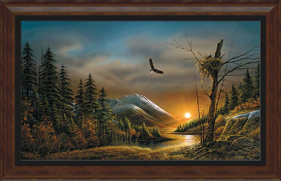 Terry Redlin Museum Edition Oversize Canvas Quot Flying Free