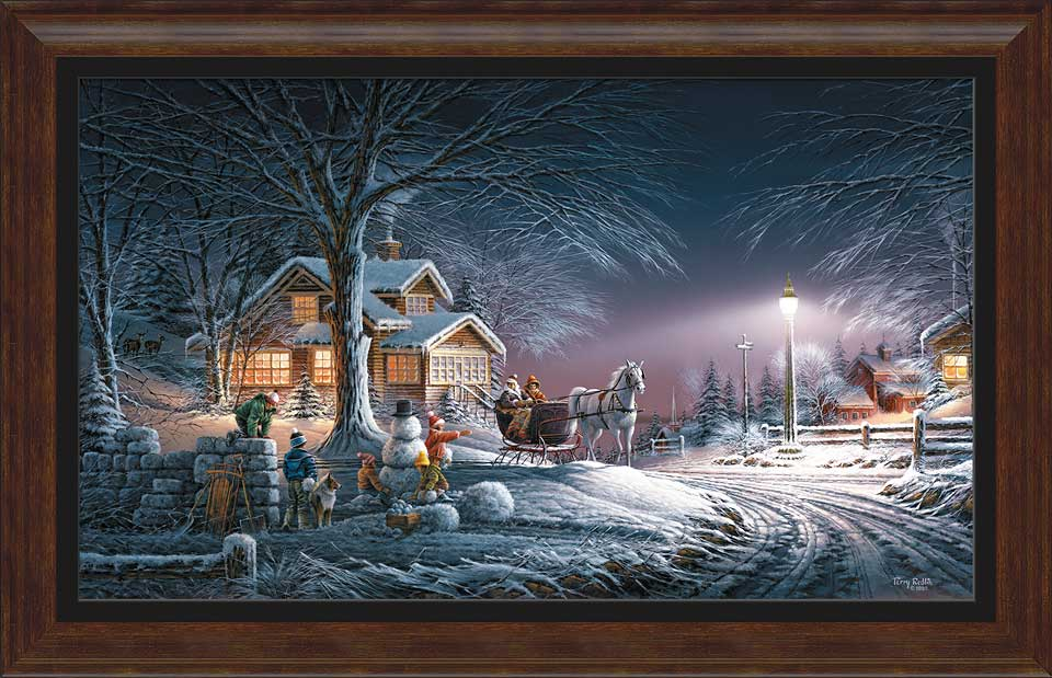 Terry Redlin Museum Edition Oversize Canvas Quot Winter