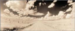 """Thea Schrack Photographs - Black and White: Sepia Toned:""""Wide Open Spaces"""""""