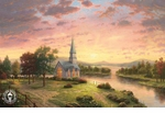 Thomas Kinkade | Churches