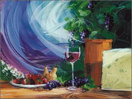 """Tim Schaible Limited Edition Giclee on Paper : """" Sonoma Fest """""""