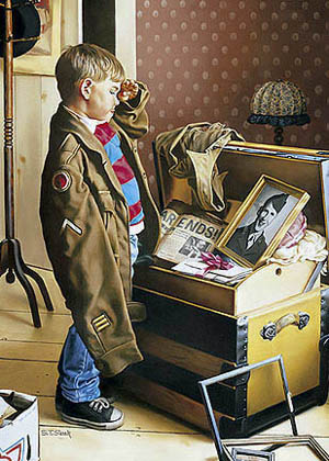 """Tom Sierak Handsigned and Numbered Limited Edition Print On Paper: """"Salute"""""""