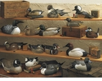 Duck Decoys (Sculpture)